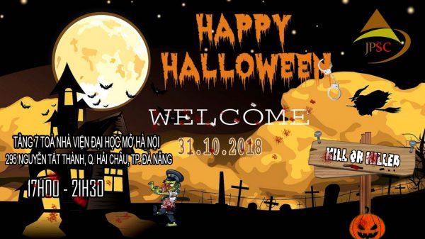 Halloween Party tại JPSC Đà Nẵng