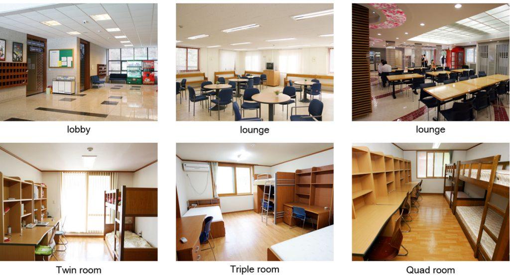 Một số hình ảnh về ký túc xá ở Đại học Keimyung