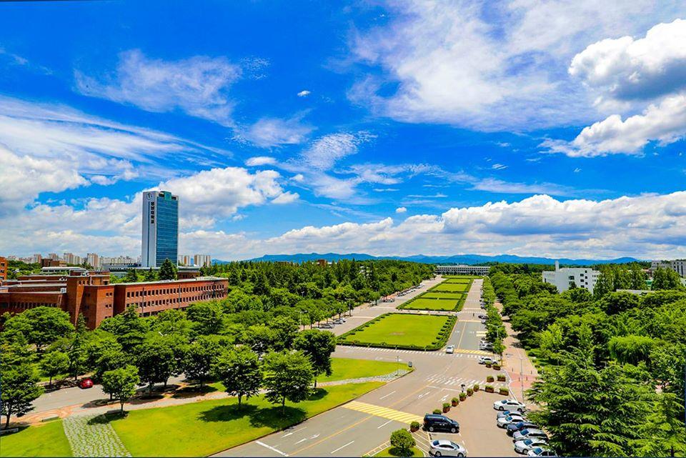Toàn cảnh trường Đại học Yeungnam