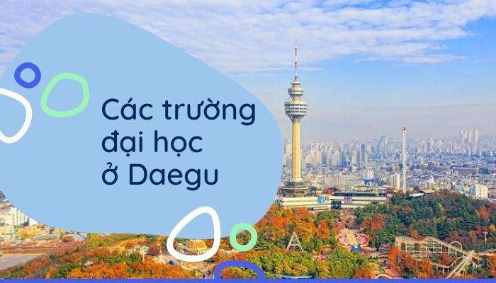 Các trường Đại học ở Thành phố Daegu